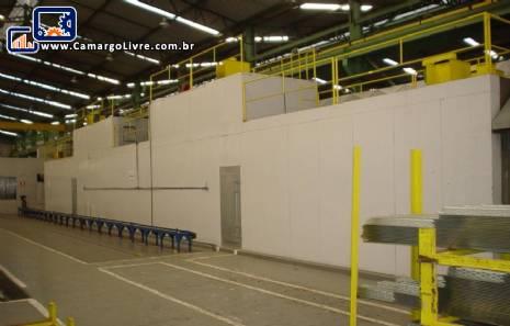 Estufa industrial para polimerização