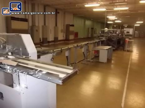 Linha de maquinas encartuchadeiras Langen