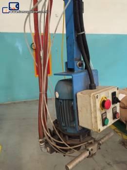 Injetora de poliuretano de baixa pressão