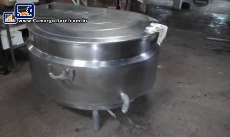 Panelão para 500 litros em inox