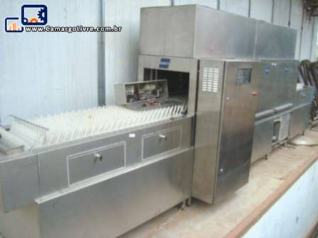 Lavadora de louça em inox marca Semco
