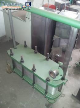 Trocador de calor com 2 estágios 41 placas