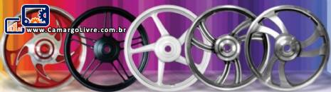 Indústria metalúrgica para fabricação de aros