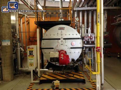Caldeira a gás para 1040 kg h Tenge