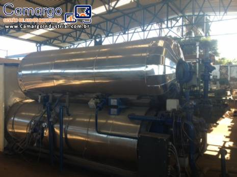 Autoclave industrial fabricante Rotomat stock