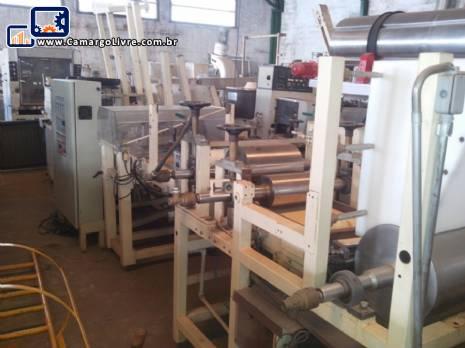 Linha para fabricação de barras de cereais Rotia