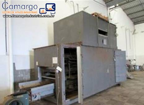 Forno de secagem snacks cereais Wenger Machine
